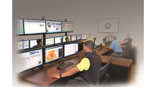Middle Atlantic Products provides workstations, video walls and racks for General Dynamics' GSOC solution
