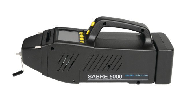 SABRE 5000 tri-mode detector from Smiths Detection