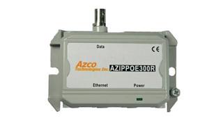Azco Technologies' AZIPPOE300 IP/PoE Extender