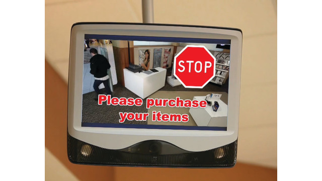 Interactive Public View (IPV) Enhanced monitor