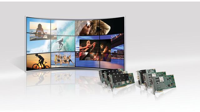 Matrox Mura MPX Series output/input video wall controller boards