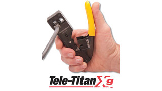 Platinum Tools' Tele-Titan Xg Crimp Tool