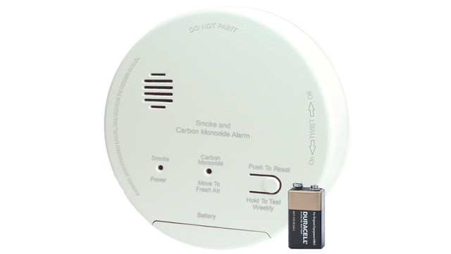 GN-503FF smoke and carbon monoxide detector