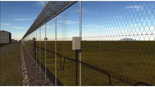 Perimeter intrusion detection line from Senstar
