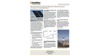 When Does A Solar Electric System Make Sense for Remote Power?