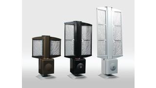 Outdoor LED lighting-based security platforms