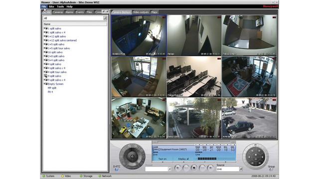 Honeywell EnterpriseNVRsoftware