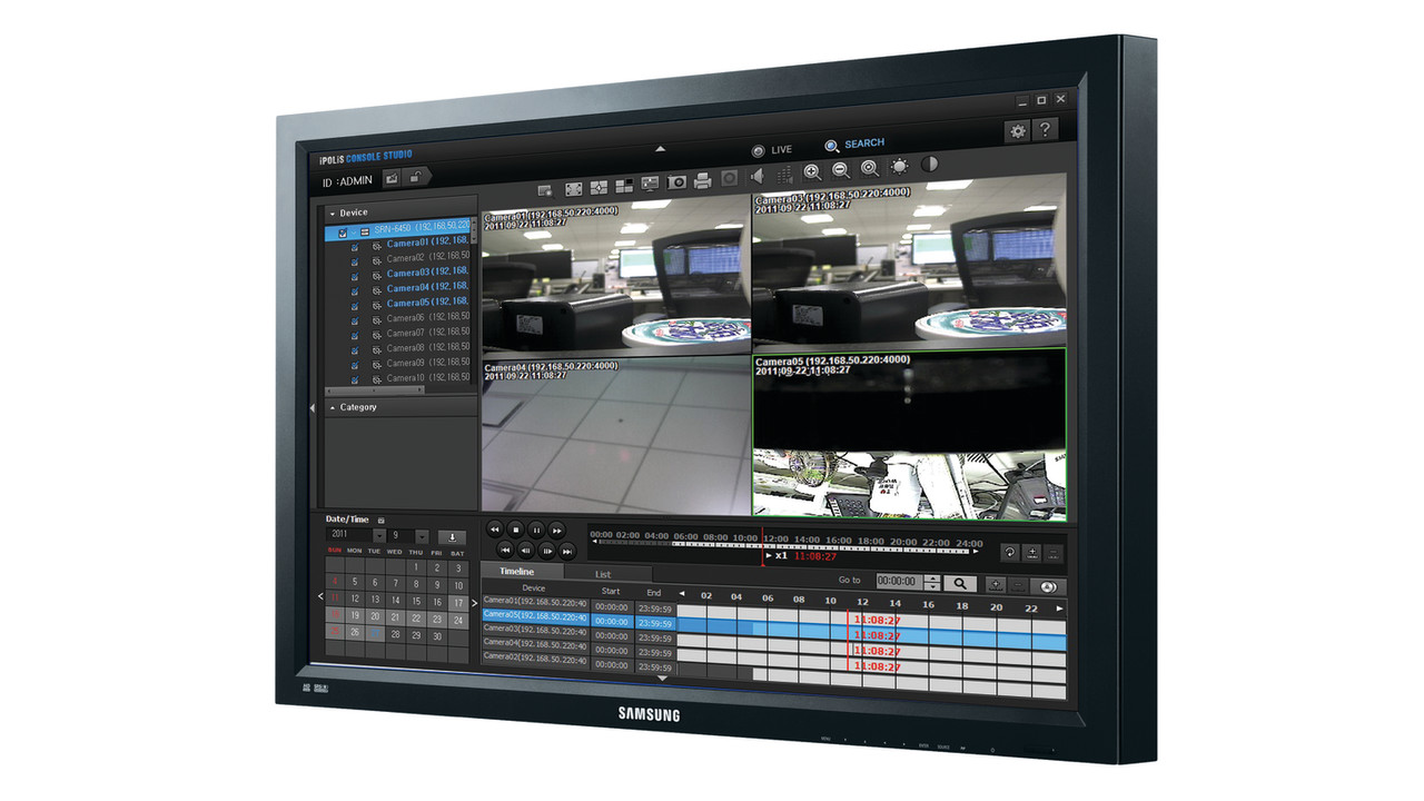 Samsung Security Manager Ssm Video Management Software Vms