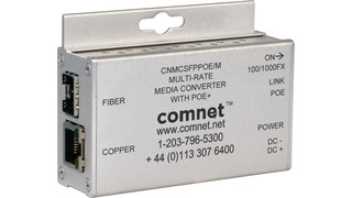CNMCSFP electrical-to-optical media converter