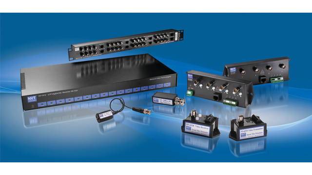 Analog CCTV Transmission Products from NVT