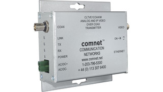 CLT/RVE1COAX link SLOC Analog and IP Video Distance Extender