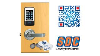 SDC's EntryCheck E75K standalone electronic lockset