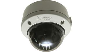 Vicon's V920D Roughneck IP Dome Cameras