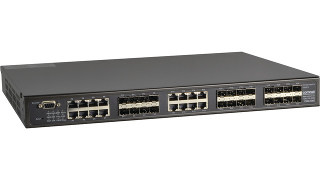 CNGE24MS hardened Managed Ethernet Switch