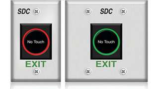 474 Sanitary Touchless Exit Switch from SDC