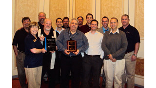 Warren Associates win Security Rep of the Year award
