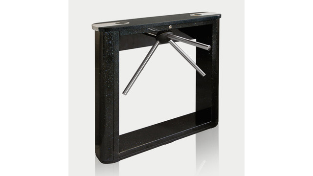 TTD-03.1E Box Tripod Turnstile with black top cover