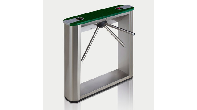 TTD-03.1S Box Tripod Turnstile with green top cover