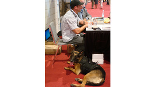 Four-legged friend steals the show at ESX 2013
