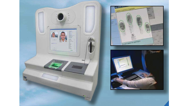 Multi-Biometric Enrollment Station (CBES)
