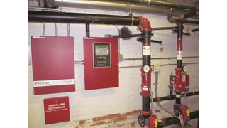 Potter fire alarm system ensures safety of Polk County's property and people