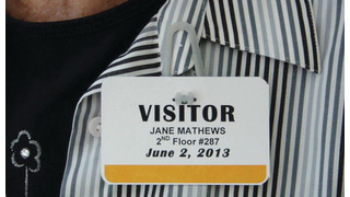 Badgetec Clip-on Visitor Badges