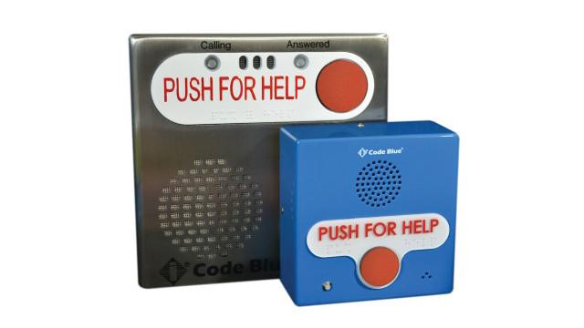 Code Blue's IP1500 and IP2500 Emergency Speakerphones