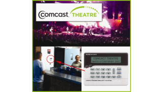 Comcast Theatre deploys Napco Gemini Security System