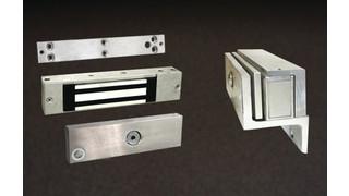 Dortronics' 1107xD maglock and 1107xEDR delayed egress actuating maglock