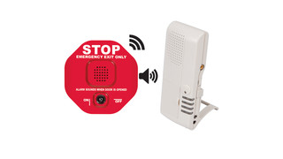 Wireless Exit Stopper (STI-V6400WIR4)