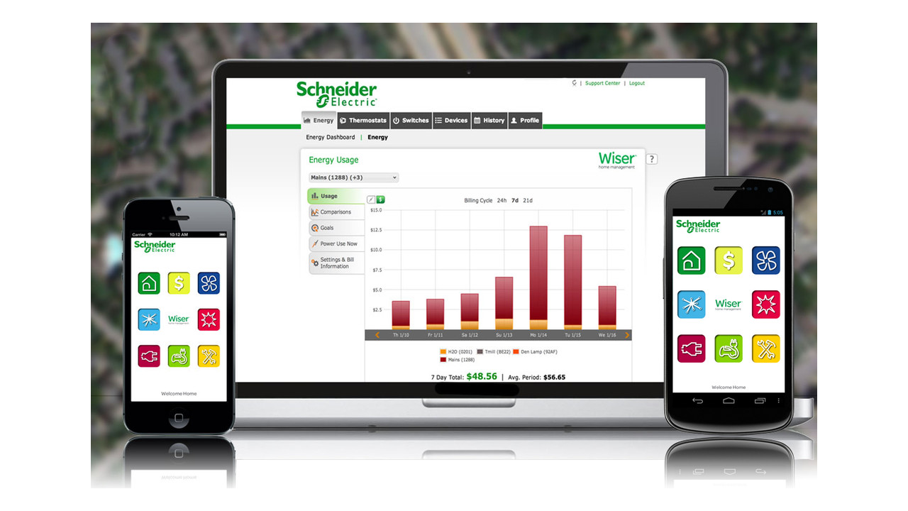 Schneider Electric S Wiser Home Management System