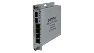 ComNet's CNGE2FE4SMS Self-Managed Ethernet Switch