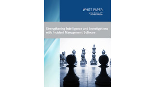 Strengthening Intelligence and Investigations with Incident Management Software