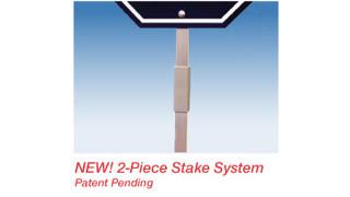 2-Piece Stake System