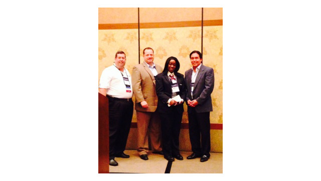 AlliedBarton's Myisha Pullum receives CALSAGA Security Officer of the Year award