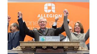 Manufacturer 1-on-1: Allegion Makes its Debut