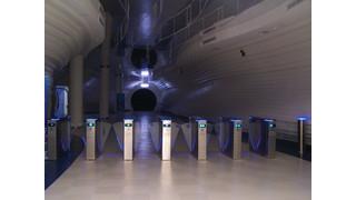 Pedestrian entrance control technology integrating IP networks to provide smarter options