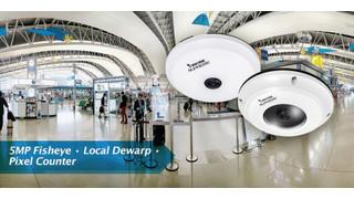 Vivotek's FE8174 and FE8174V 5-Megapixel, 360-Degree Network Cameras
