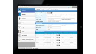 Monitronics eContract app
