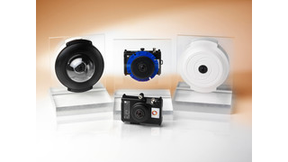 Evolution 360-degree camera range