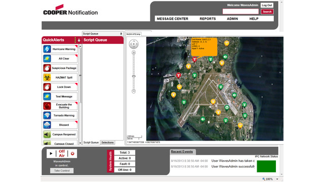 ALERiTY Line of Integrated, IP Network-Based Mass Notification Solutions