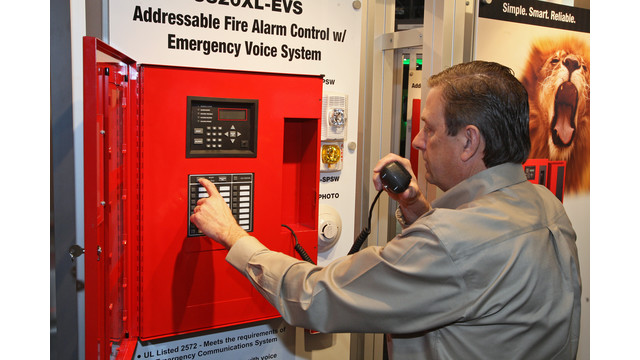 new technologies and functionality in fire alarm control panels