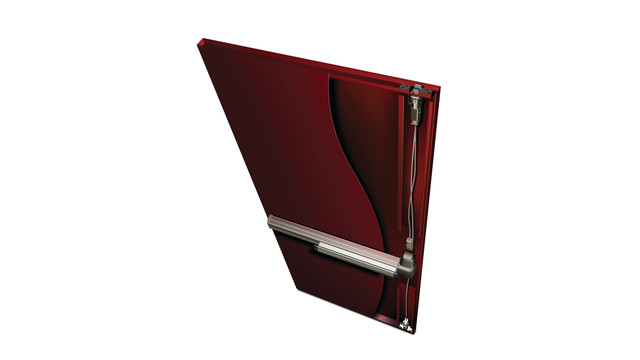 Concealed Vertical Cable Exit Devices