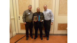 Dynacom Sales wins Middle Atlantic Products' 'Security Rep of the Year' award