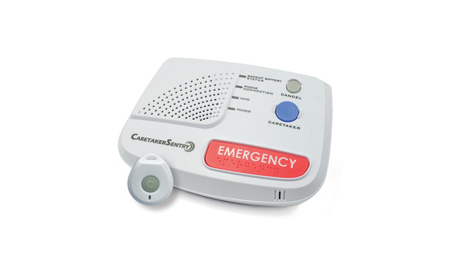 Caretakersentry personal emergency response system pers cs base and pendant 300dpi cmy11416131d aloadofball Image collections