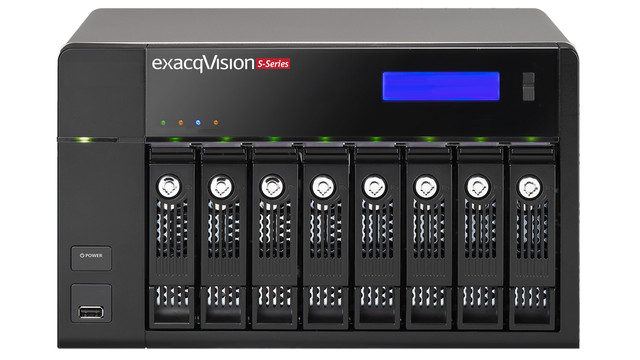 Exacq Technologies' S-Series Enterprise Networked Video Storage Servers