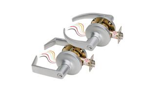 SDC Z7200 Electrified Cylindrical Lockset