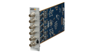 Axis' T8646 PoE+ over Coax Blade