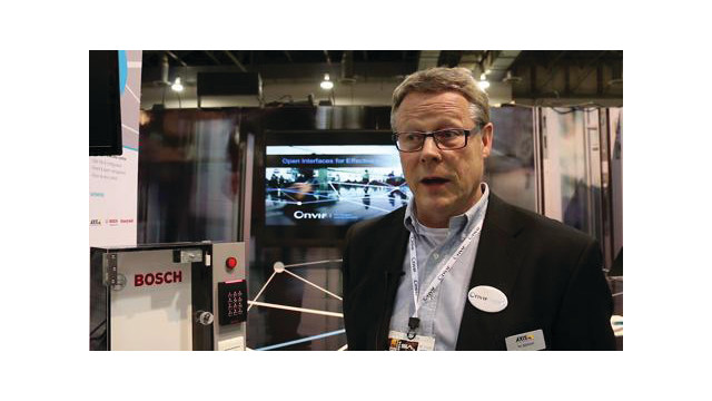 Video: ONVIF helps move standards forward in security