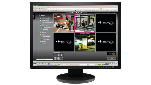 ViconNet JUMP, ZONE and PEAK Video Management Systems